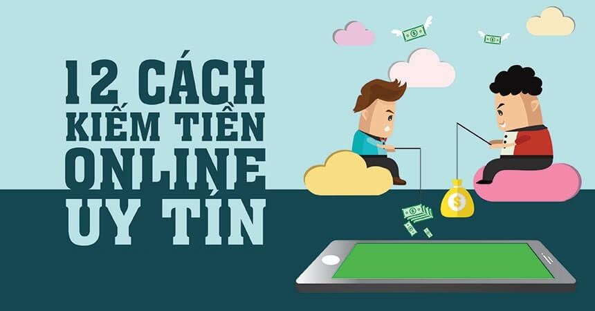 12 cách kiếm tiền online