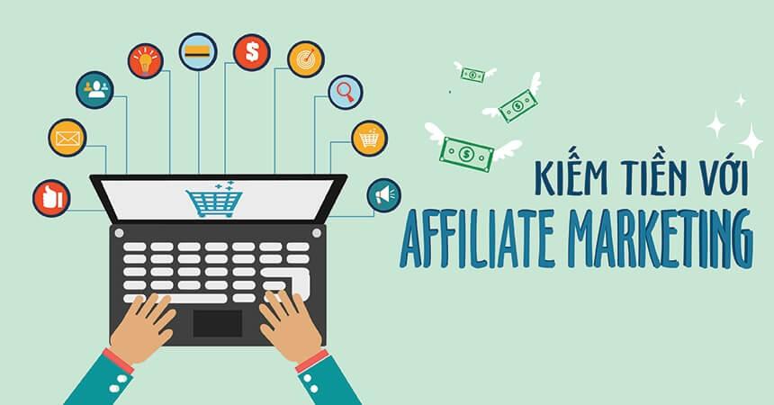 kiếm tiền online với affiliate