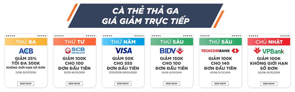 Cà thẻ thả ga, giá giảm trực tiếp trên Tiki
