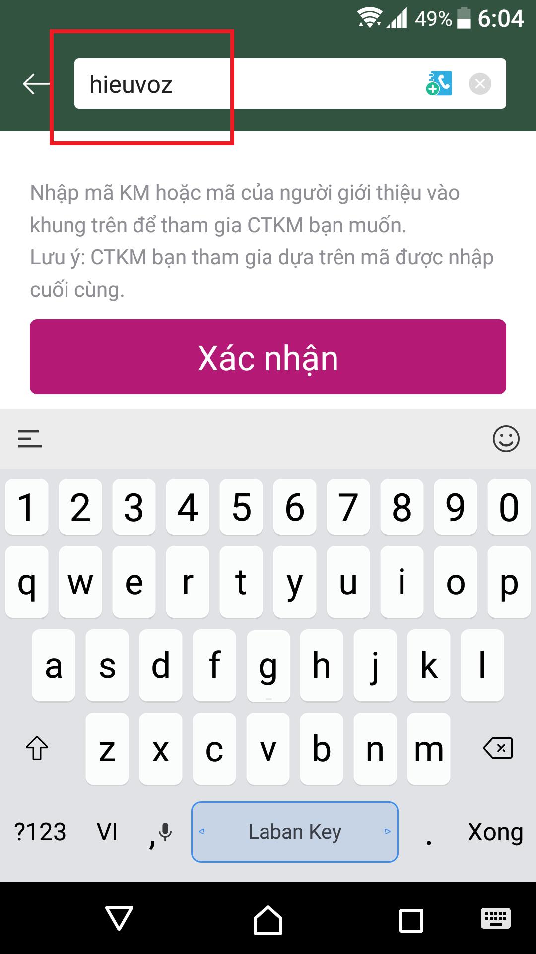 nhận mã khuyến mãi khi đăng ký Momo