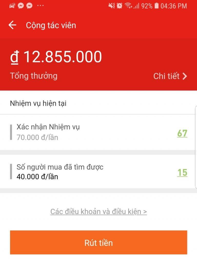 kiếm tiền từ Akulaku